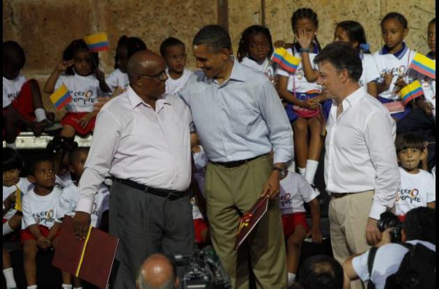 Encuentro de Obama con afrocolombianos