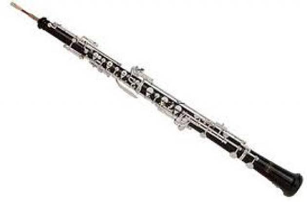 Oboe, instrumento de viento.