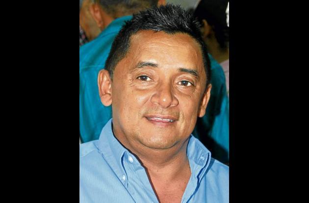 José Gamarra Navarro, alcalde de Galeras