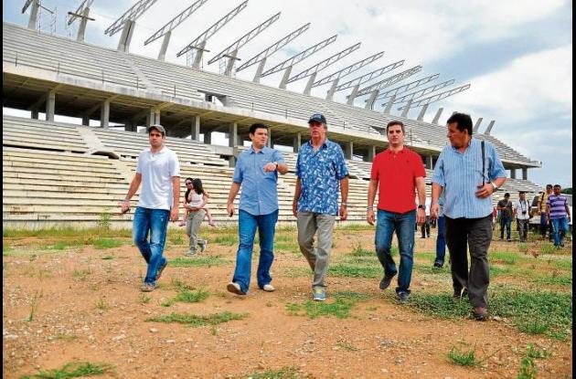 Obras para juegos nacionales en Córdoba.