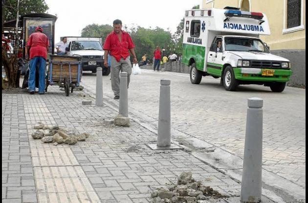 Las obras del Plan Centro serán reiniciadas en próximos días.