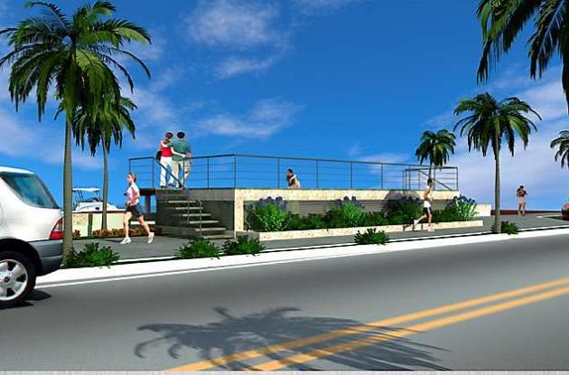 Obras de control de mareas en sector turístico de Cartagena.