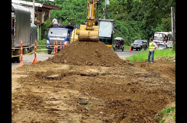 El terreno se sigue deslizando, lo que impide realizar las obras de compactación