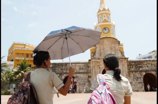 Ola de calor en Cartagena y la Costa en general.