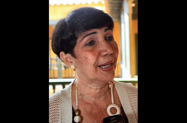 Olimpia Buelvas Amaya, personera distrital de Cartagena de Indias.