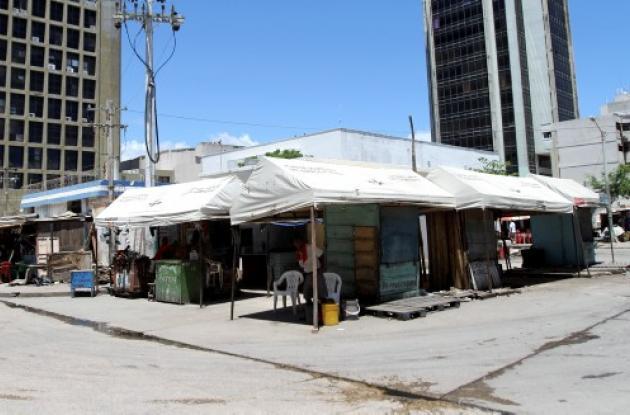 Plazoleta Olímpica del Centro Histórico de Cartagena.
