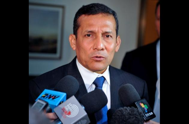 Ollanta Humala, presidente electo de Perú.