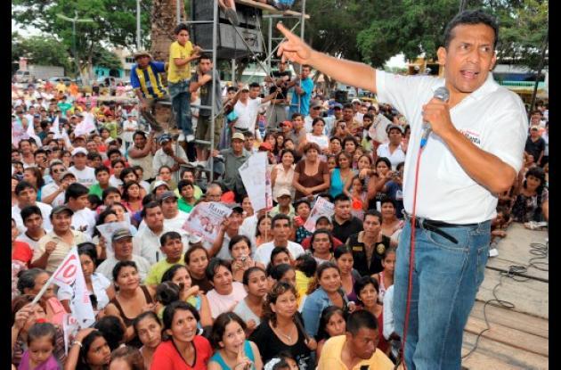Ollanta Humala: empate técnico con Keiko Fujimori en nueva encuesta.