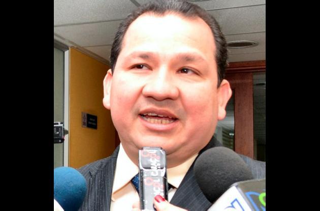 Ómar Díaz-Granados, gobernador del Magdalena.