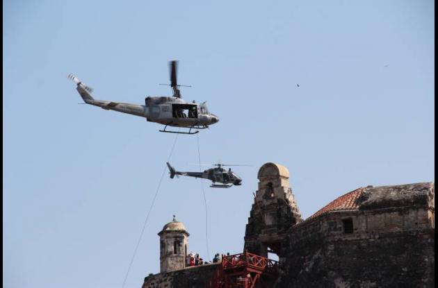 Asalto aéreo al Castillo San Felipe