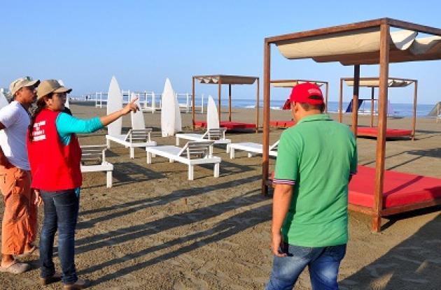 operativos en las playas de cartagena