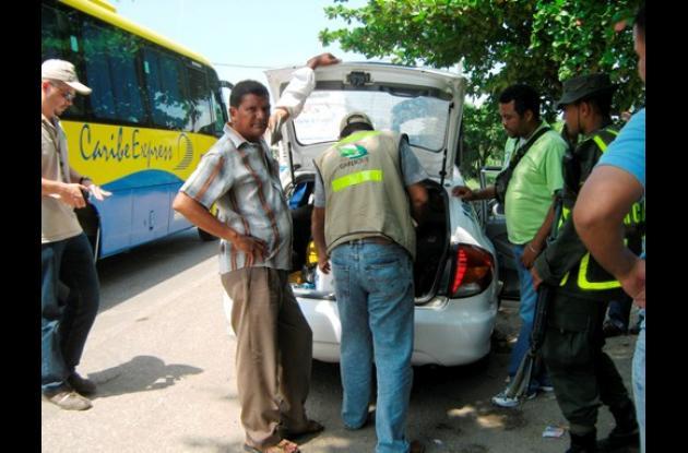 operativos contra el tráfico de fauna silvestre.