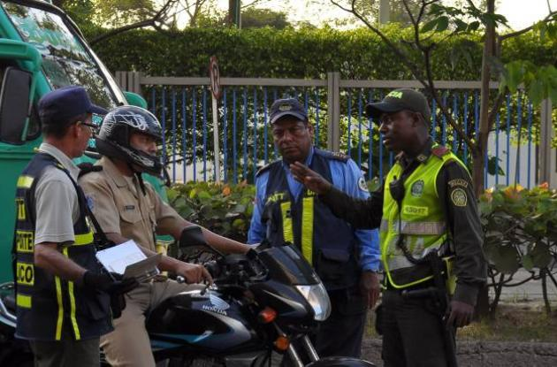 Operativos viales en Cartagena