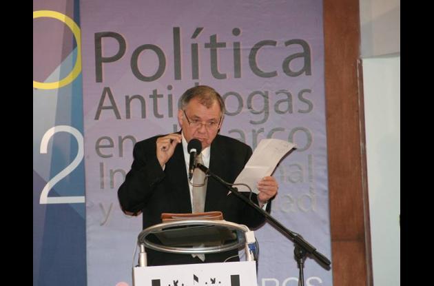 El procurador Alejandro Ordóñez, en el debate nacional sobre la legalización de
