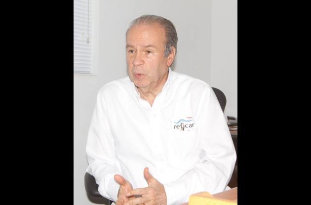 Orlando Cabrales, presidente de Reficar.