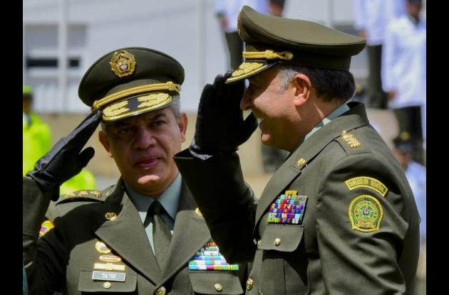 Óscar Naranjo y José Roberto León Riaño