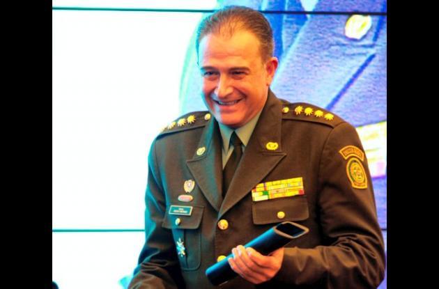 El general Oscar Naranjo, director de la Policía Nacional.