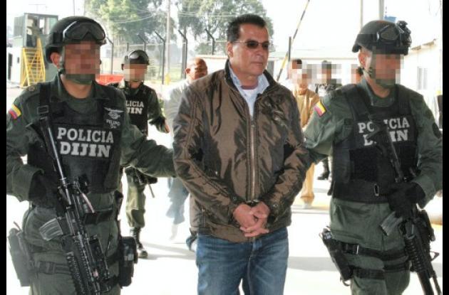 """Óscar Varela García, alias """"Capachivo"""" fue extraditado a los Estados Unidos en m"""