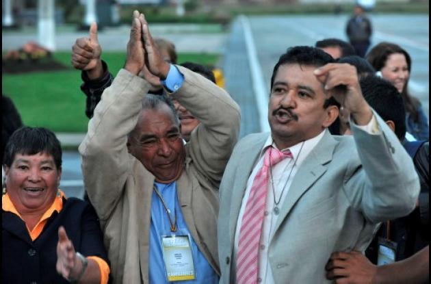 Concejal Acuña, uno de los liberados por las Farc en los últimos días.