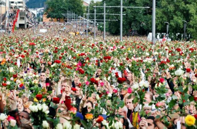 El desfile de la rosa