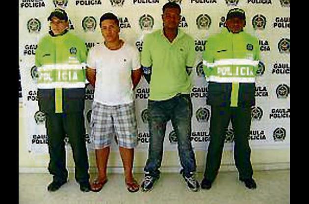 """Walter Castañeda Torres, alias """"El Gato"""" y Héctor Rodríguez, """"El Negro"""""""
