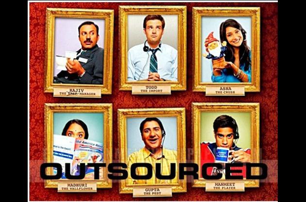 El 6 de julio se estrena Outsourced, la nueva comedia de Warner Chanel.