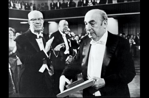Pablo Neruda, poeta y Premio Nobel de Literatura 1971.