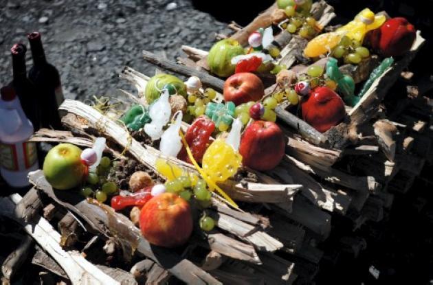 Comienzan festejos en honor a Pachamama, o Madre Tierra.