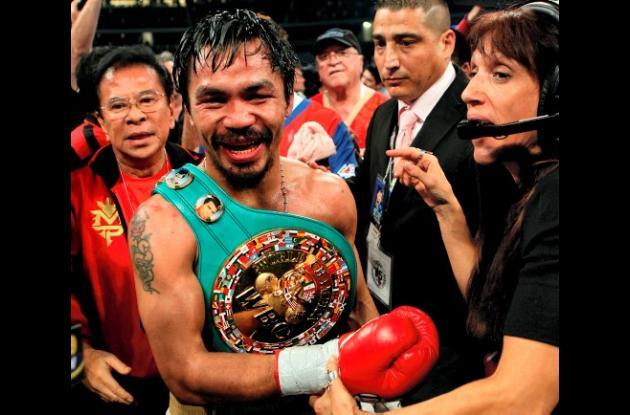 Consejo Mundial de Boxeo (CMB) despojó del título a Manny Pacquiao