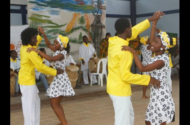 Bailes típicos afrocolombianos.