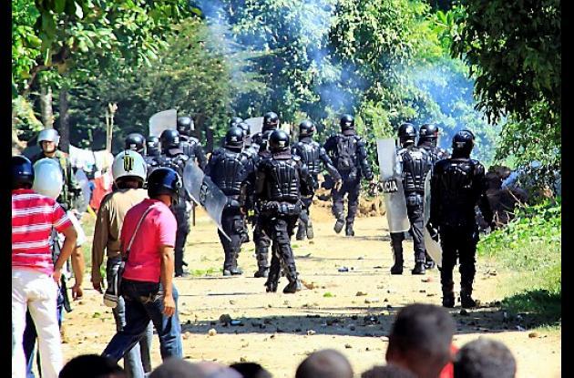 Protesta Palenque.