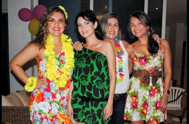 Cumpleaños de Paola Turbay de Berrío