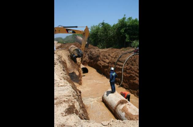 Cartagena sin servicio de4 agua potable por parada técnica.