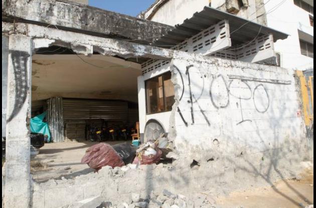 Restitución de espacio público en Plazoleta Telecom de Cartagena