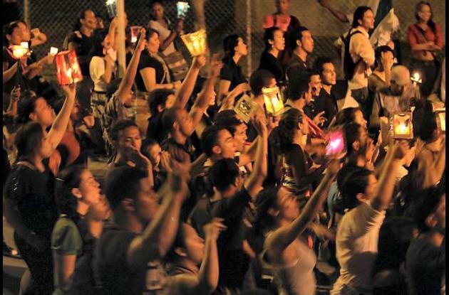 Manifestaciones de los estudiantes de las universidades públicas de Colombia.