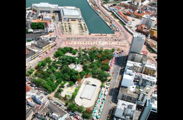 Distrito rehabilitará al Parque Centenario.