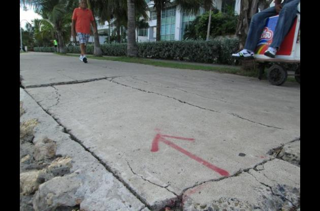 Paseo Peatonal Bocagrande