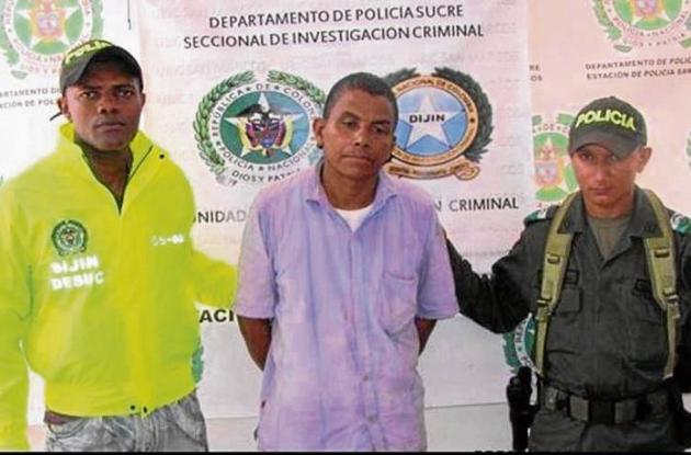Luis Enrique Lobo Ramos, pastor evangélico capturado.