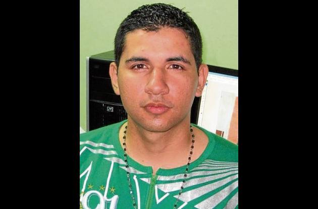 Jhonatan Ramírez López, patrullero fallecido.