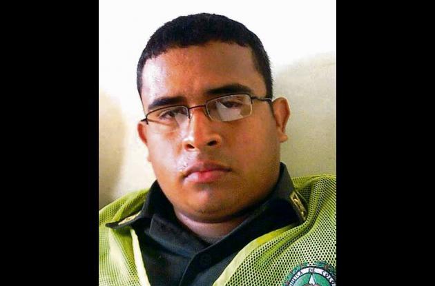 Samir Manuel Montes Oviedo, patrullero muerto.