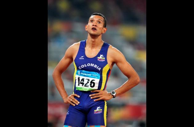 El colombiano Paulo Villar quedó eliminado en semifinales de 110 metros vallas d