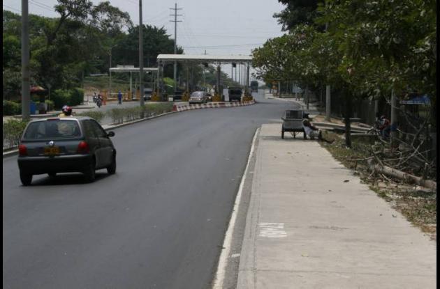 corredor de carga tribunal administrativo de Bolívar peaje mamonal