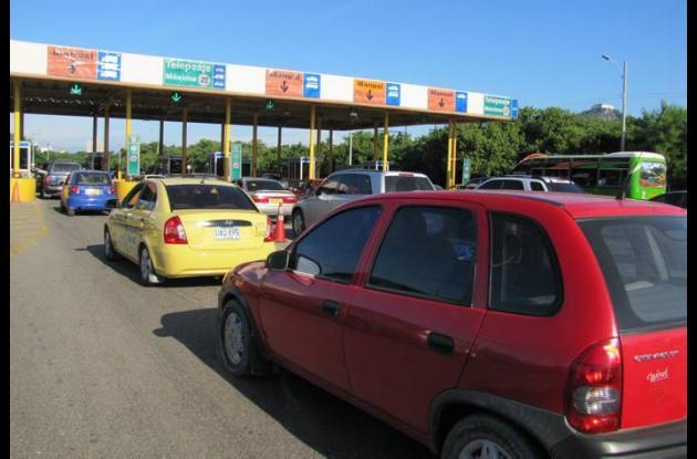 Aumento de precios de peajes en Cartagena