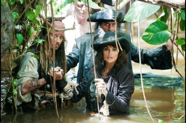 "Penélope Cruz en ""Piratas del Caribe, On Stranger Tides""."