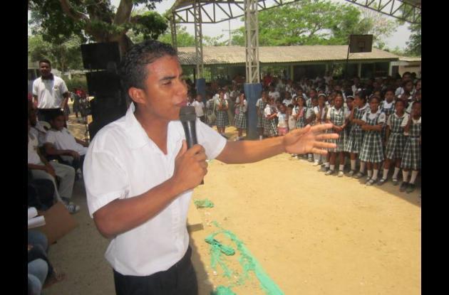 El joven Jaime Luis Pérez Polo, de undécimo grado, es el nuevo personero de la I
