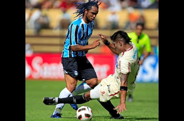 León de Huánuco empató con Gremio de Brasil en Copa Libertadores.