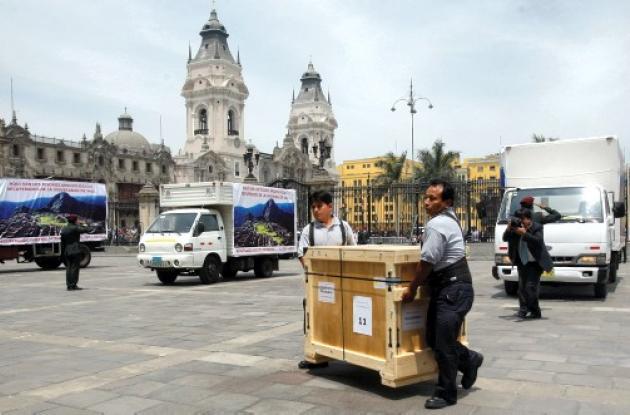 La Universidad de Yale devuelve un primer lote de piezas a Machu Pichu