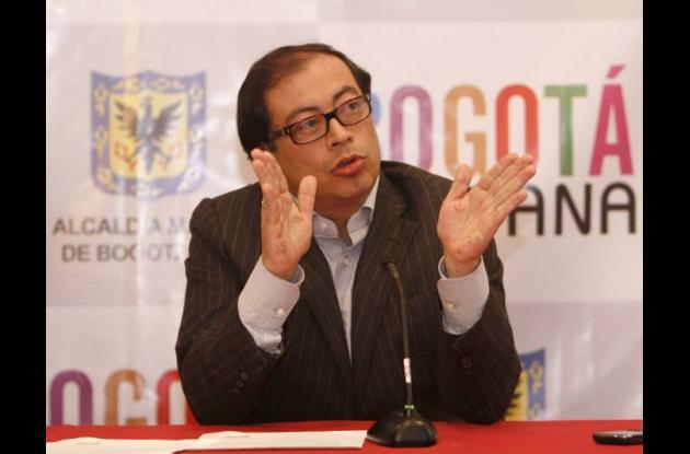Gustavo Petro Bogotá