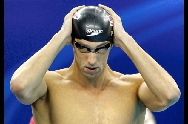 Michael Phelps ganó el miércoles su primera medalla de oro del Campeonato Mundia