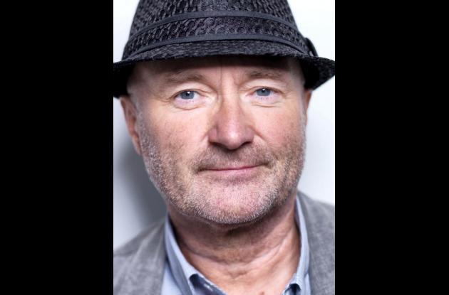 Phil Collins, cantante británico.